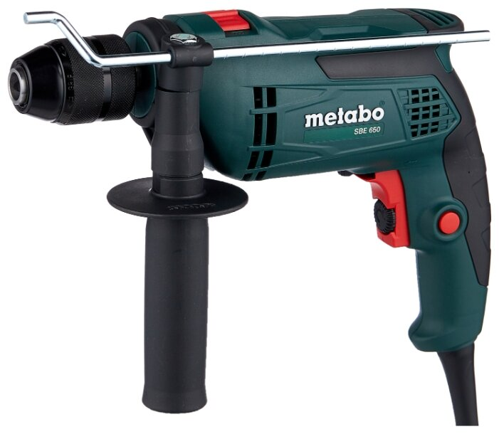 Дрель ударная Metabo SBE 650 (БЗП) 650 Вт