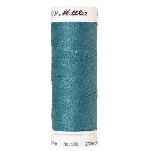 AMANN GROUP Mettler Нить универсальная Seralon 1678, 0611 Blue-green Opal 200 м