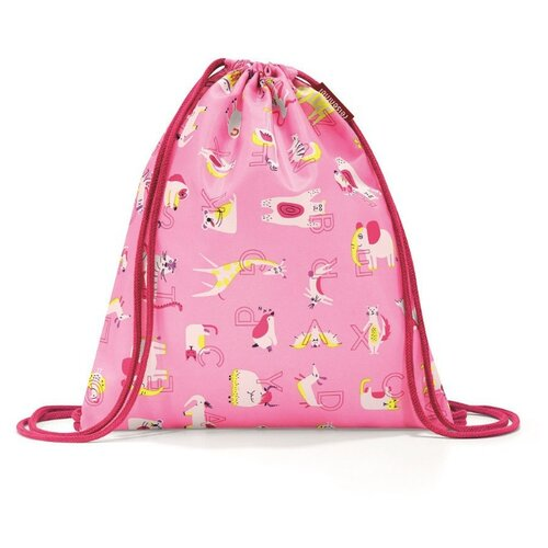 Купить Reisenthel Мешок детский Mysac abc friends (IC4066/IC3066) розовый, Мешки для обуви и формы