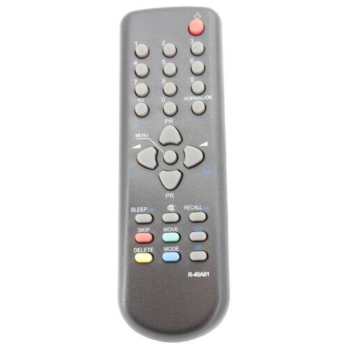 Пульт ДУ Huayu R-40A01 для телевизоров Daewoo DTC-21U3/DTC-14V4/DTA-14C4TFF/DTC-14V1/DTC-20V5/DTA-20C4TF черный