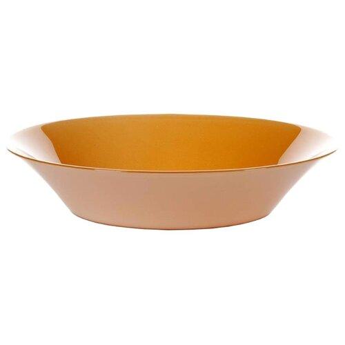 Pasabahce Тарелка суповая Village 22 см orange тарелка pasabahce бохо цвет зеленый диаметр 26 см
