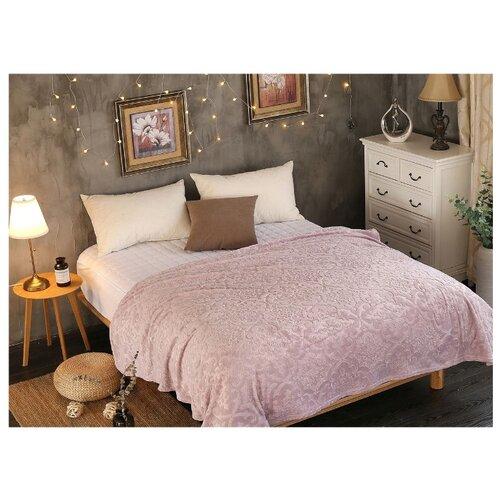 цена Плед Cleo Moreska 150х200 см, розовый онлайн в 2017 году