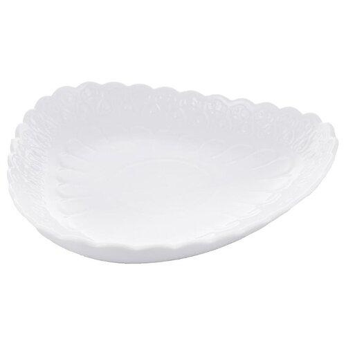 Millimi Блюдо Жемчуг 25.5 х 25.5 х 5 см белый
