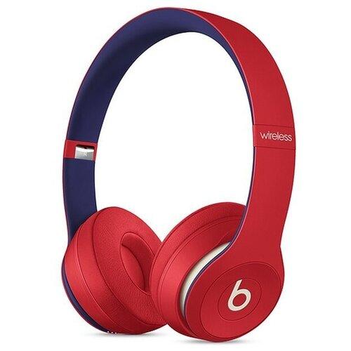 Наушники Beats Solo3 Wireless красный/синий беспроводные наушники beats solo3 wireless decade collection черный красный