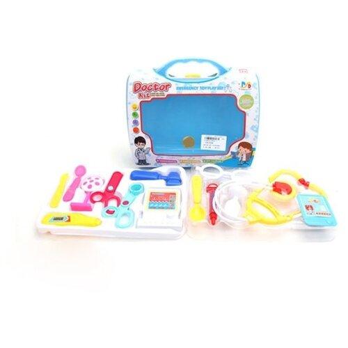 Купить Набор доктора Наша Игрушка в чемоданчике, 14 предмета (9904-1), Наша игрушка, Играем в доктора