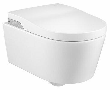 Унитаз-биде подвесной Roca Inspira In-Wash A803060001 с горизонтальным выпуском