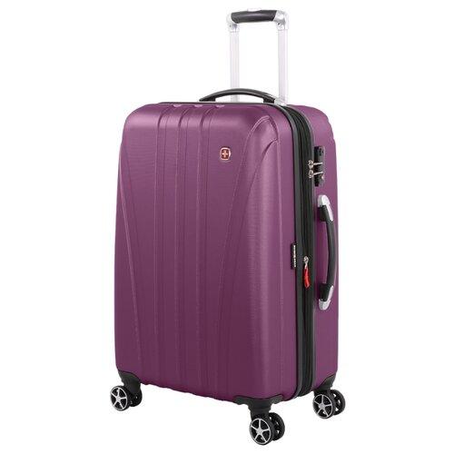 Чемодан SWISSGEAR TALLAC M 65 л, фиолетовый цена 2017