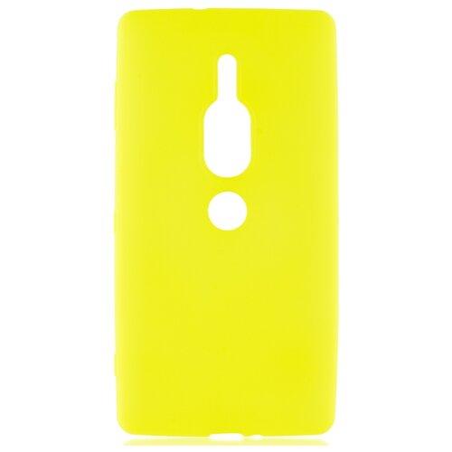 Чехол Rosco XZ2P-COLOURFUL для Sony Xperia XZ2 Premium желтый