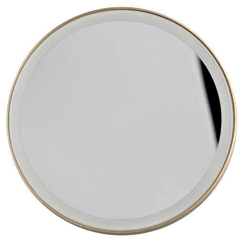 Зеркало косметическое настенное Gezatone LM100 с подсветкой золотистый