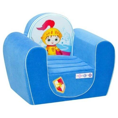 Классическое кресло PAREMO детское PCR316 размер: 54х38 см, обивка: ткань, цвет: рыцарь