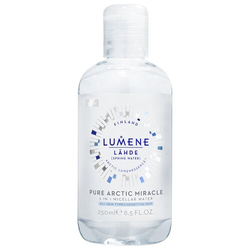 Lumene мицеллярная вода 3 в 1 Nordic Hydra Lähde, 250 мл вода lumene puhdas daily clearing treatment water 200 мл