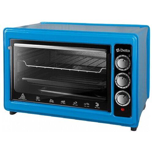 Мини-печь DELTA D-0123 синий