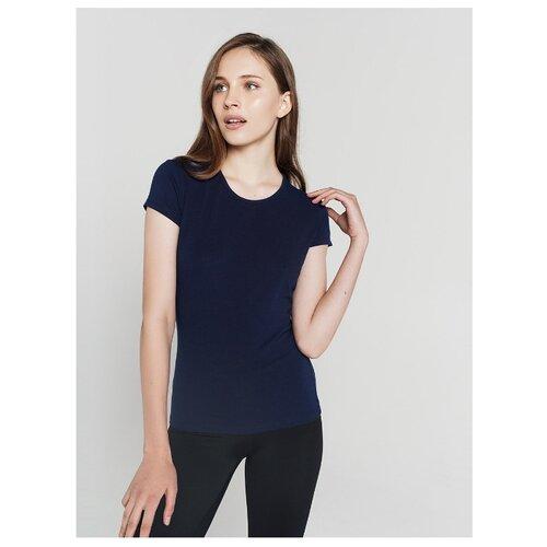Футболка ТВОЕ 62731 размер XS, темно-синий футболка твое 68432 размер xs темно синий
