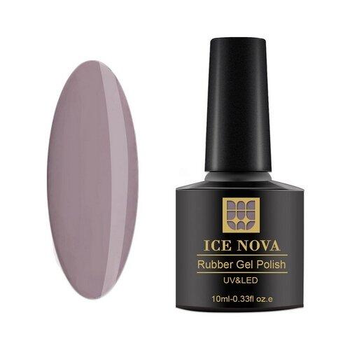 Гель-лак для ногтей ICE NOVA Rubber Gel Polish, 10 мл, 092 гель лак для ногтей ice nova rubber gel polish 10 мл 185