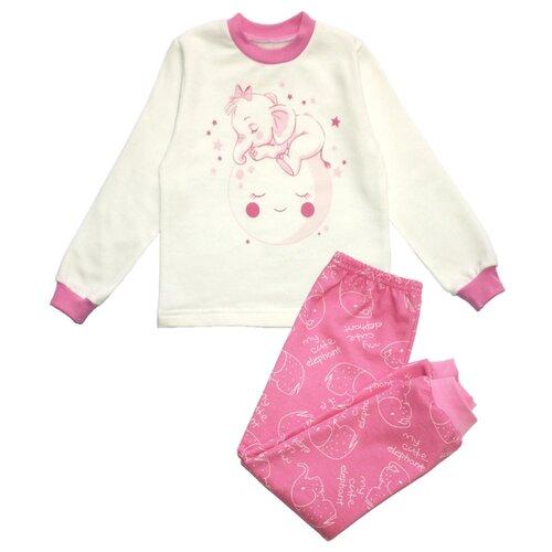 Пижама Веселый Малыш размер 92, розовый пижама веселый малыш размер 92 белый оранжевый