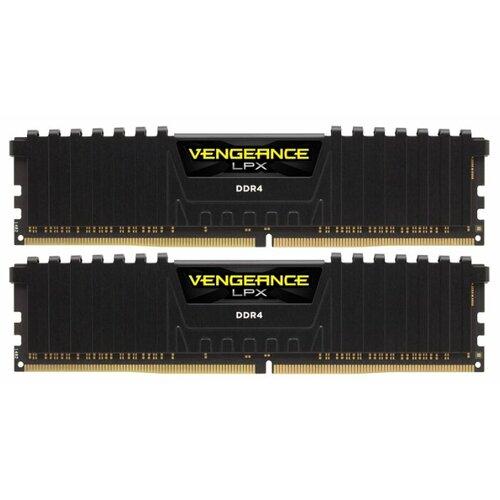 Оперативная память Corsair Vengeance LPX DDR4 2400 (PC 19200) DIMM 288 pin, 8 ГБ 2 шт. 1.2 В, CL 14, CMK16GX4M2A2400C14
