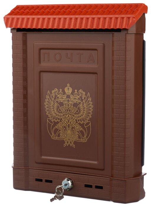 Почтовый ящик Цикл Премиум 5920-00 390 х 280 мм коричневый