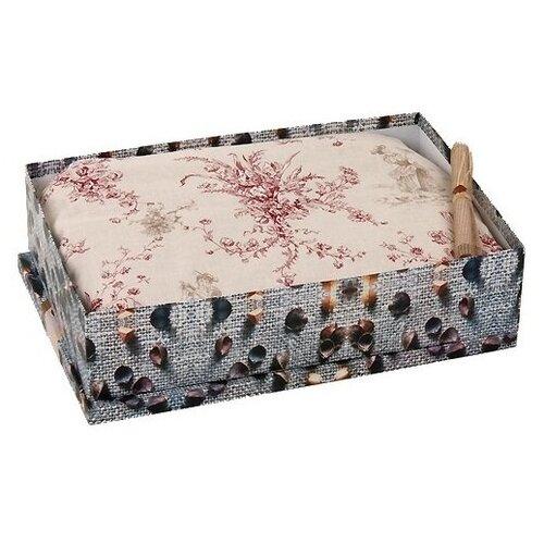 Гречневая подушка в коробке Лика, двойной чехол , л026 50 х 70 см