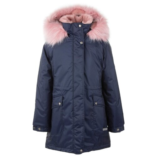Купить Парка KERRY Elly K20671 A размер 128, 00299 темно-синий, Куртки и пуховики