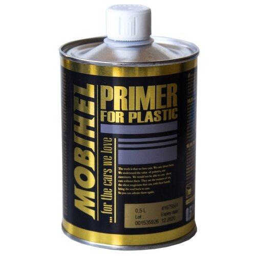 Аэрозольный грунт-праймер Mobihel для пластика бесцветный 0.5 л