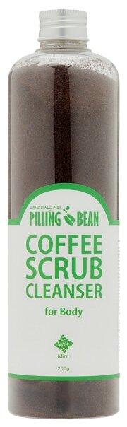 Pilling Bean Скраб для тела Мята кофейный