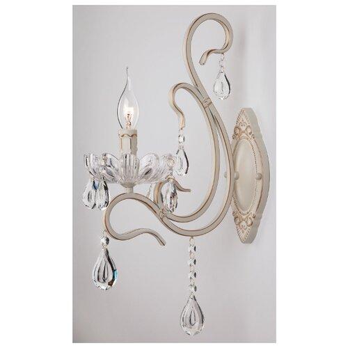Настенный светильник Eurosvet Etna 12205/1 белый, 40 Вт светильник настенный eurosvet screw 40136 1 6w белый