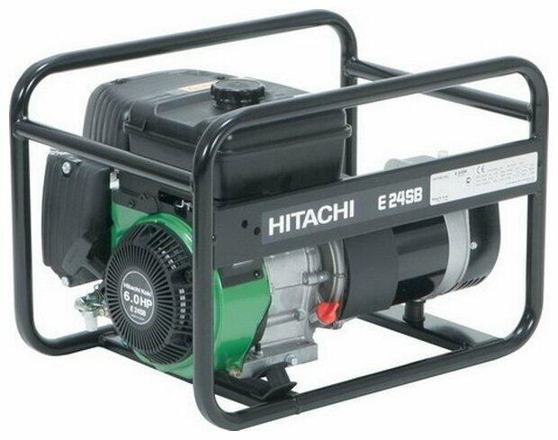 Бензиновый генератор Hitachi E24SB (2100 Вт)