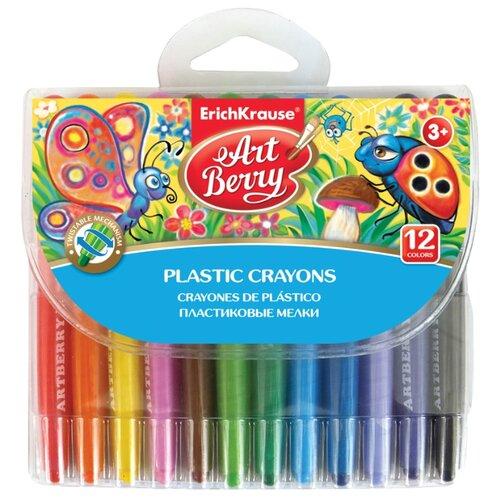 ErichKrause Мелки ArtBerry Twistable 12 цветов 34924