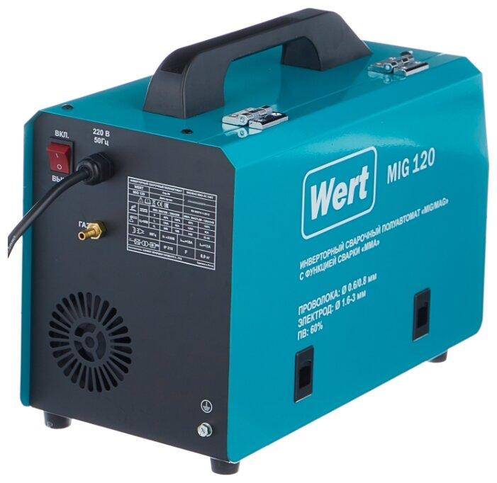 Сварочный аппарат Wert MIG 120 (MIG/MAG, MMA)