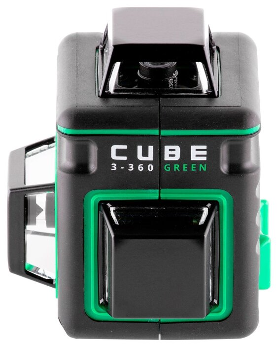 Лазерный уровень ADA instruments CUBE 3-360 GREEN BASIC EDITION (А00560)