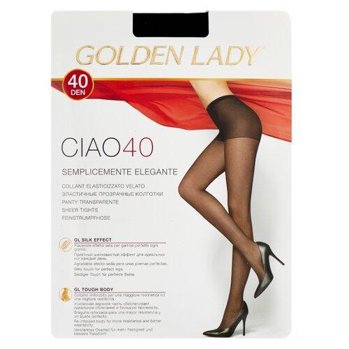 Колготки Golden Lady Ciao 40 den, размер 4-L, nero (черный) колготки golden lady ciao 20 den размер 3 m nero черный