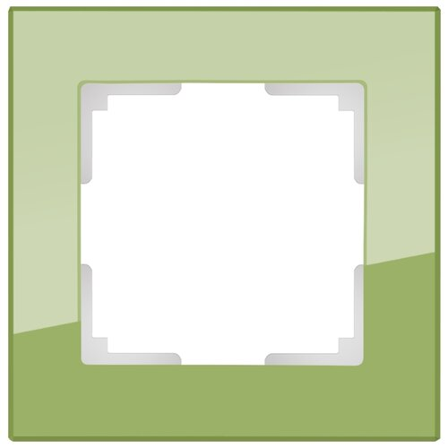 Рамка 1п Werkel WL01-Frame-01 рамка 1п werkel wl01 frame 01 dbl белый