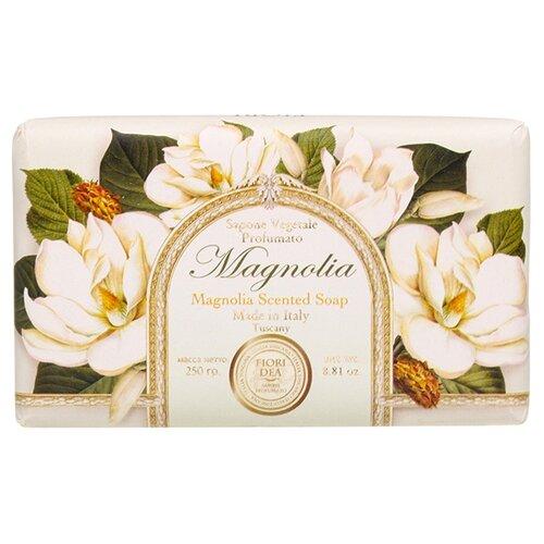 Мыло кусковое Fiori Dea Magnolia, 250 г fiori dea бальзам для губ sweet