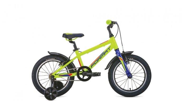 Велосипед Format Kids 16 2019-2020, желтый, RBKM0L6G1001