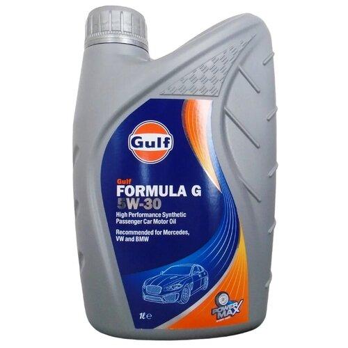 Моторное масло Gulf Formula G Powermax 5W-30 1 л моторное масло gulf multi g 15w 40 1 л