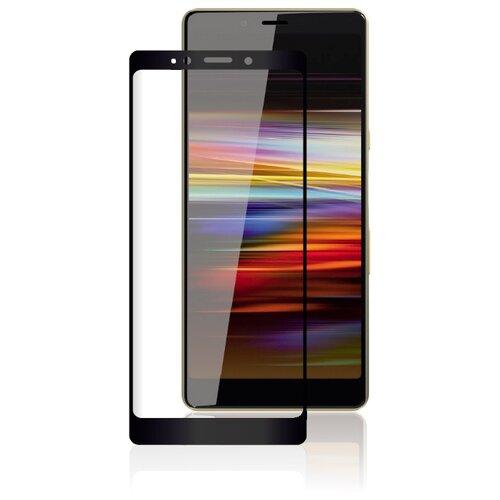 Защитное стекло Rosco полноприклеивающееся для Sony Xperia L3 черный