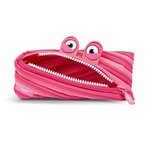 ZIPIT Пенал Wildlings Pouch (ZTM-WD) розовый zipit пенал сумочка neon pouch цвет розовый