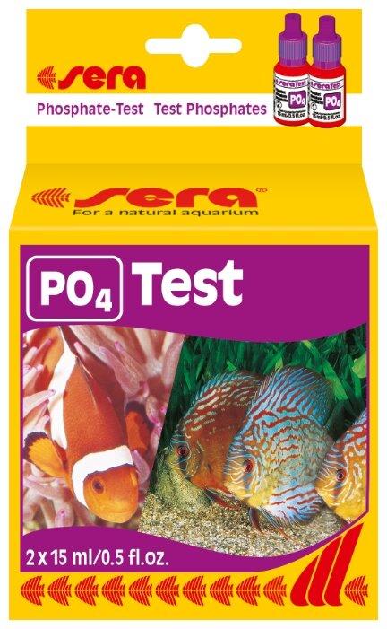 Sera PO4-Test тесты для аквариумной воды