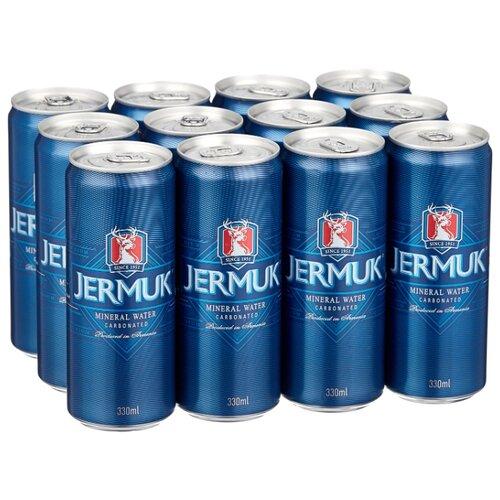 Минеральная природная вода Jermuk газированная, алюминиевая банка, 12 шт. по 0.33 л минеральная природная вода jermuk газированная алюминиевая банка 12 шт по 0 33 л