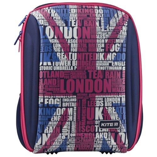 Купить Kite Рюкзак Education London K19-732S-1 синий/красный, Рюкзаки, ранцы