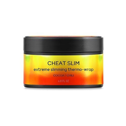 BEAUTIFIC обертывание Cheat Slim термоактивное для экспресс похудения с перцем чили и какао 200 мл