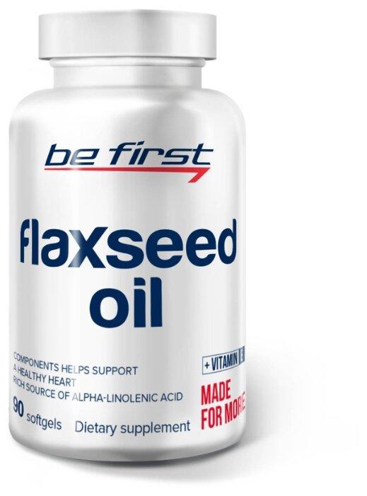Омега жирные кислоты Be First Flaxseed Oil (90 капсул)
