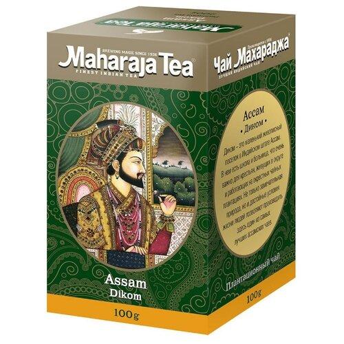 Чай чёрный Maharaja Tea Assam Dikom индийский байховый, 100 г maharaja tea магури билл чай черный байховый 100 г