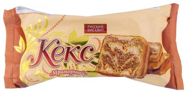 Кекс Русский бисквит мраморный с какао 225 г