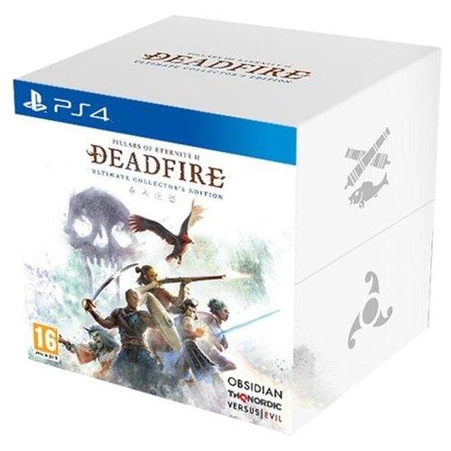 Игра для PlayStation 4 Pillars of Eternity II: Deadfire. Ultimate Edition. Коллекционное издание русские субтитры
