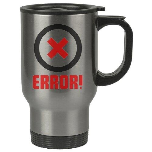 Автомобильная термокружка Error