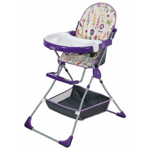 Купить Стульчик для кормления Selby SH-252, яркий луг фиолетовый, Стульчики для кормления