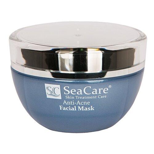 SeaCare Анти-Акне маска для лица от прыщей и угрей Anti-Acne Facial Mask, 50 мл черная маска для прыщей