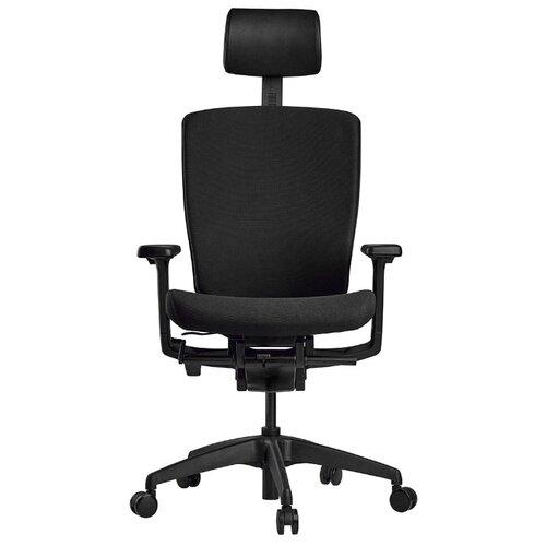 Эргономичное компьютерное кресло Schairs AEON-P01B BLACK