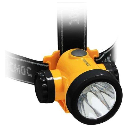 Налобный фонарь КОСМОС H3WLI-ON жёлтый налобный фонарь fenix raptor hm65r